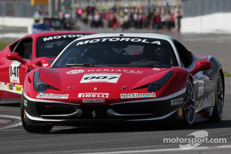 Robert Herjavec Ferrari of Ontario 458CS