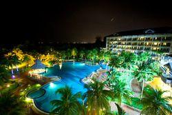 Resort area in Port Dickson