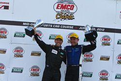 Race winnaars Michael Valiante, Richard Westbrook