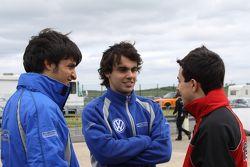 Carlos Sainz Jr., Pietro Fantin, Pipo Derani