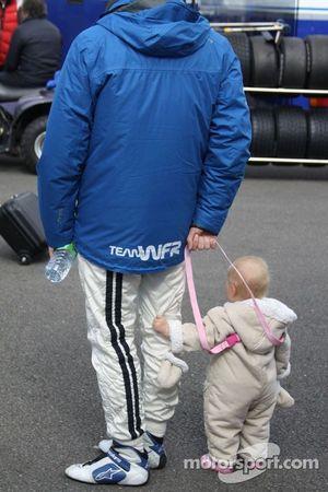 Racing baby