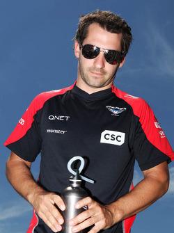 Timo Glock, Marussia F1 Team, rijdersparade