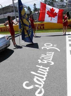 ГП Канады, Воскресенье, перед гонкой.