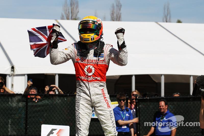 Lewis Hamilton, McLaren - 2012