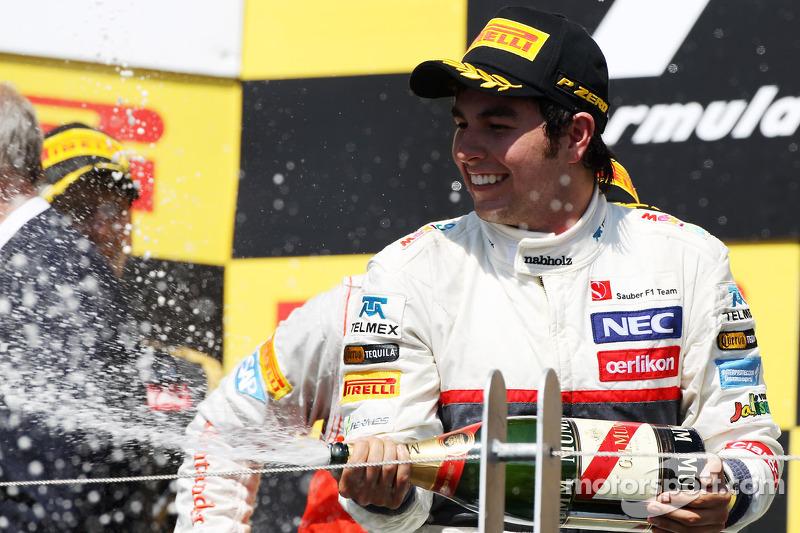 Tercero en el GP de Canadá 2012