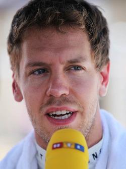 Sebastian Vettel, Red Bull Racing on the grid