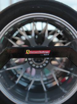 tire rack detail