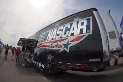 NASCAR memorabilia hauler