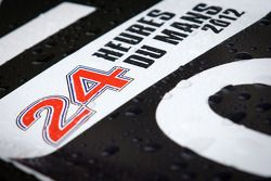 Regendruppels op de #0 Highcroft Racing Delta Wing Nissan