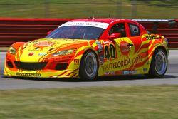 #40 Dempsey Racing Mazda RX-8 Patrick Dempsey Joe Foster