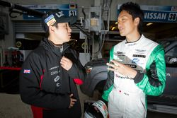 Харуки Куросава и Томонобу Фудзии.