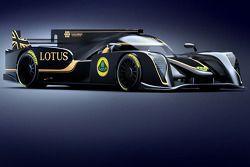 Презентация Lotus проекта LMP2, 2013, презентация.