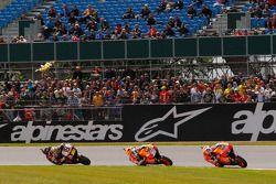 Casey Stoner, Repsol Honda Team, Dani Pedrosa, Repsol Honda Team y Alvaro Bautista, Honda Gresini