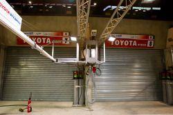 Toyota Racing garage