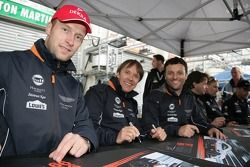 Stefan Mücke, Adrian Fernandez, Darren Turner