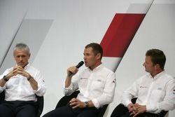 Rinaldo Capello, Tom Kristensen, Allan McNish