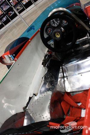 1980 Ferrari 312T5 cockpit