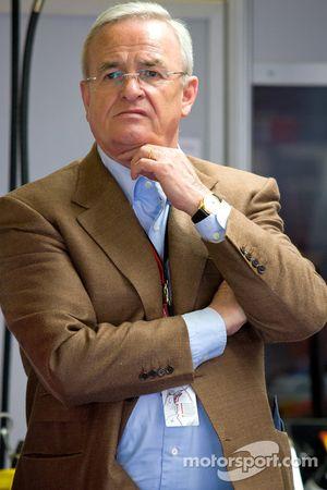 Martin Winterkorn, CEO de Volkswagen AG