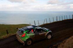 Yazeed Al Rajhi and Michael Orr, Ford Fiesta RS WRC