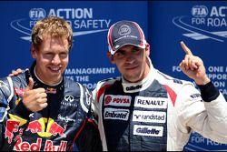 Sebastian Vettel, Red Bull Racing and Pastor Maldonado, Williams F1 Team