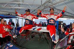 Winnaars Sébastien Loeb en Daniel Elena, Citroën DS3 WRC, Citroën Total World Rally Team