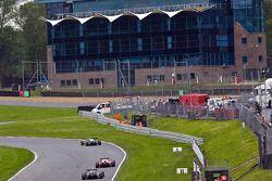 F3 wagens door Surtees Bend