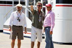 Eric Clapton, Rock Legend, with Niki Lauda