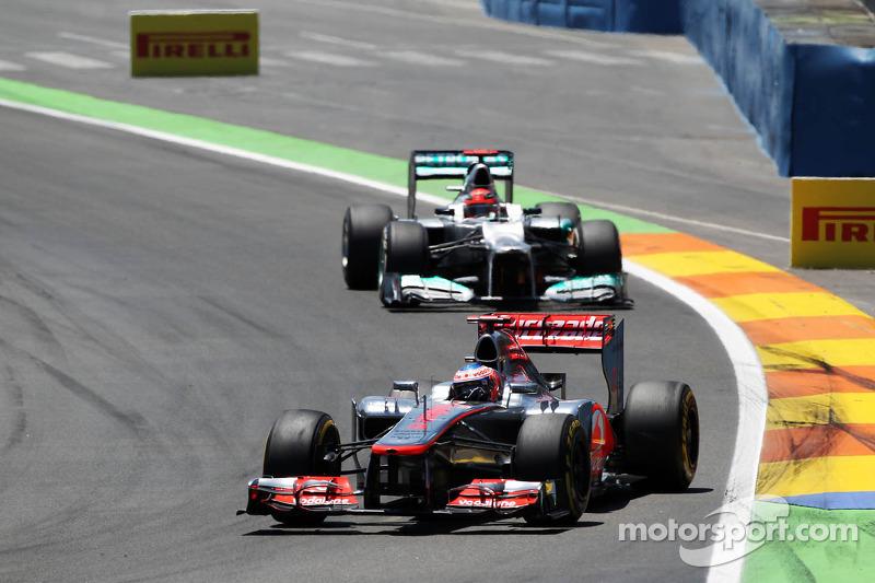 ...а затем и Дженсона Баттона на McLaren