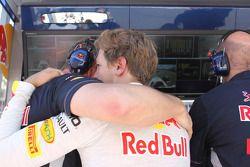 Sebastian Vettel, Red Bull Racing retired from the race