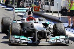 3. Michael Schumacher, Mercedes AMG F1