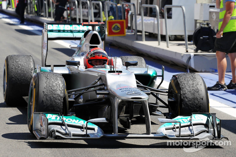 3. Michael Schumacher, Mercedes AMG F1