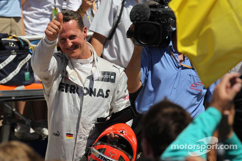 3. sıra Michael Schumacher, Mercedes AMG Petronas