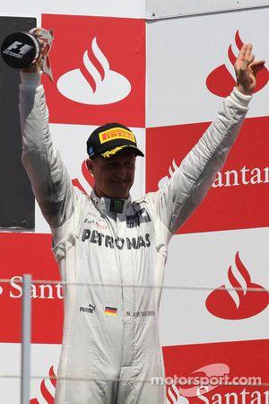3. Michael Schumacher, Mercedes AMG Petronas