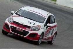 #92 Kinetic Motorsports Kia Rio : Jim Kenzie