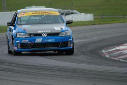 #87 Emich Racing VW GLI : Fred Emich