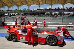 #8 Autobacs Racing Team Aguri Honda HSV-010 GT: Ralph Firman, Takashi Kobayashi