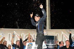 Victoire: James Buescher, le grand gagnant