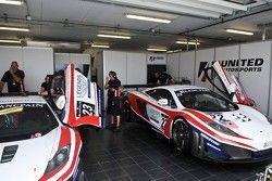 United Autosport garage