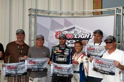 Polepositie Jimmie Johnson, Hendrick Motorsports Chevrolet