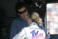 Toto Wolff und Susie Wolff, Persson Motorsport, AMG Mercedes C-Coupe