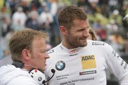 Martin Tomczyk, BMW Team RMG, BMW M3 DTM; Stefan Reinhold , BMW Team RMG