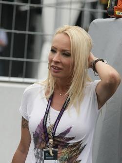 Cora Schumacher, wife of Michael Schumacher