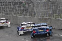 Joey Hand, BMW Team RMG BMW M3 DTM, Roberto Merhi, Persson Motorsport AMG Mercedes C-Coupe