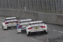Andy Priaulx, BMW Team RBM BMW M3 DTM, Joey Hand, BMW Team RMG BMW M3 DTM, Adrien Tambay, Audi Sport