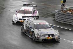 Christian Vietoris, Team HWA AMG Mercedes, AMG Mercedes C-Coupe; Andy Priaulx, BMW Team RBM, BMW M3