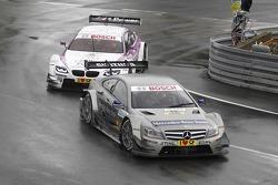Christian Vietoris, Team HWA AMG Mercedes, AMG Mercedes C-Coupe, Andy Priaulx, BMW Team RBM BMW M3 D