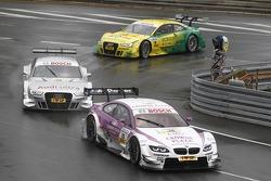 Andy Priaulx, BMW Team RBM BMW M3 DTM, Adrien Tambay, Audi Sport Team Abt Audi A5 DTM, Mike Rockenfe