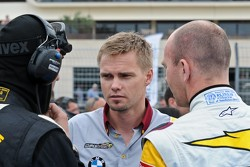 Markus Palttala and Bas Leinders pre race