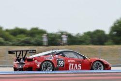 #59 Vita4One Team Italy Ferrari 458 Italia: Jay Palmer, Andrea Barlesi, Alessandro Bonetti