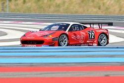 #72 Kessel Racing Ferrari 458 Italia: Gino Forgione, Claude-Yves Gosselin, Mathias Beche